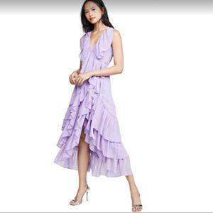 Misa Los Angeles Liuna ruffle dress NWT
